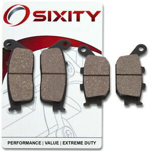 Front-Rear-Ceramic-Brake-Pads-2004-2009-Honda-VTX1300C-Set-Full-Kit-Solid-my