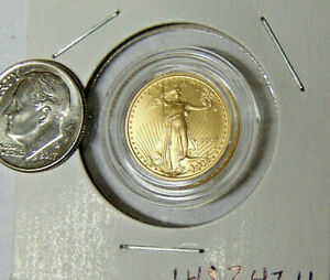 2007-W-5-American-Gold-Eagle-1-10-oz-Burnished-Uncirculated-Gold-Coin