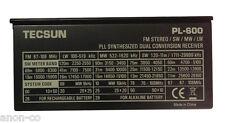 TECSUN PL-600 Radio Receiver Original Back Stand