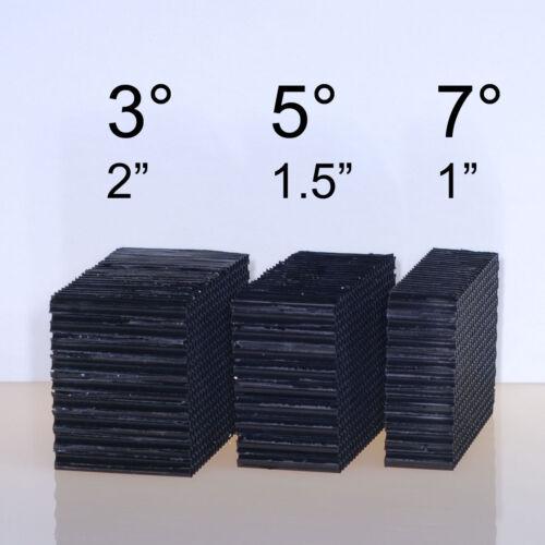 5° 7° Super tight! DIY Honeycomb Grid 3 Pack 3°