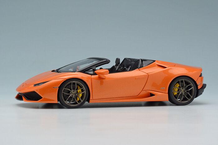 Eidolon EM342B3 1 43 Lamborghini Huracan LP610-4 Spyder 2015 Pearl Orange