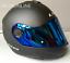 LS2-Flip-Up-Front-Motorcycle-Motorbike-Helmet-MATT-BLACK-Tinted-Blue-Visor miniatura 1