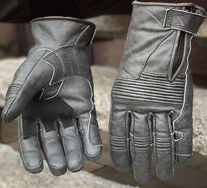 Cuero-motocicleta-guantes-Biker-motocicleta-guantes-autentico-cuero-de-vaca-Antik-cuero
