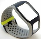 NEW TomTom Comfort Strap BLACK/GRAY Runner Multi-Sport GPS watch band cardio HR+