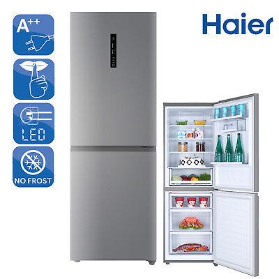 Kühlschrank Kühl-Gefrierkombination A++ Haier C3FE735CMJ NoFrost Edelstahllook