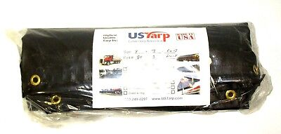 "Quality USTarp! Dump Truck Flip Tarp Asphalt Lumite 7/'6/"" x 16/' w//mount spline"