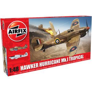 Airfix Hawker Hurricane Mk.I Tropical (Scale 1:48) Model Kit NEW