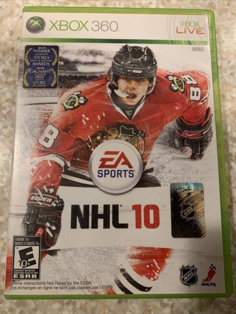 E/A Sports - NHL 10 ( Xbox 360 ,2010 )