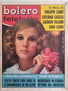 bolero 1103 Sinatra Lerot Jannacci Berti Caselli Cervi Sandrelli Vargas Kennedy