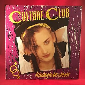 CULTURE-CLUB-Kissing-To-Be-Clever-UK-Vinyl-LP-EXCELLENT-CONDITION-BOY-GEORGE-J