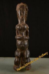 VECCHIO figura tribale Fang Gabon Fes-040