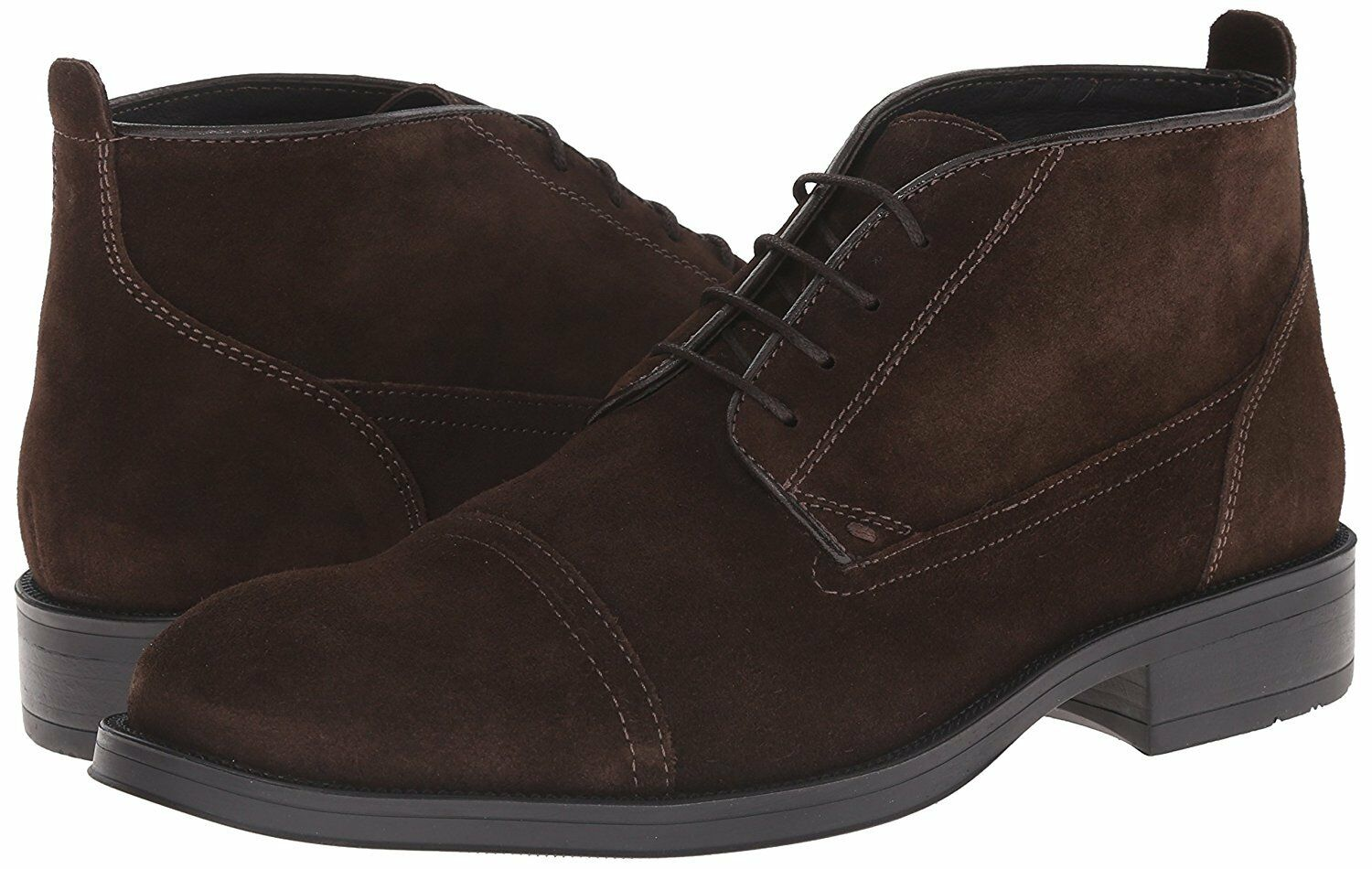 Kenneth Cole New York Men's Said N Done Dk Brown Suede SZ 10 MSRP 175