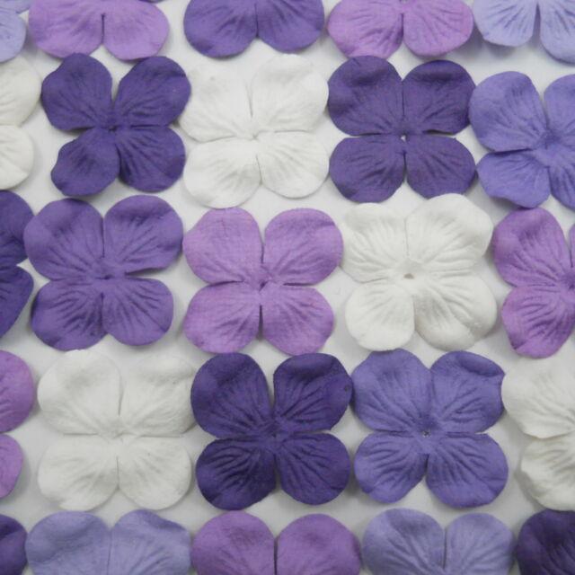100 Paper Flowers Scrapbook Cardmaking Home Decor Party Art Craft Supply ZP9-601