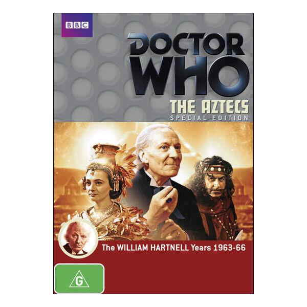 Doctor Who: The Aztecs DVD 2 Disc Set Brand New Region 4 Aust. William Hartnell