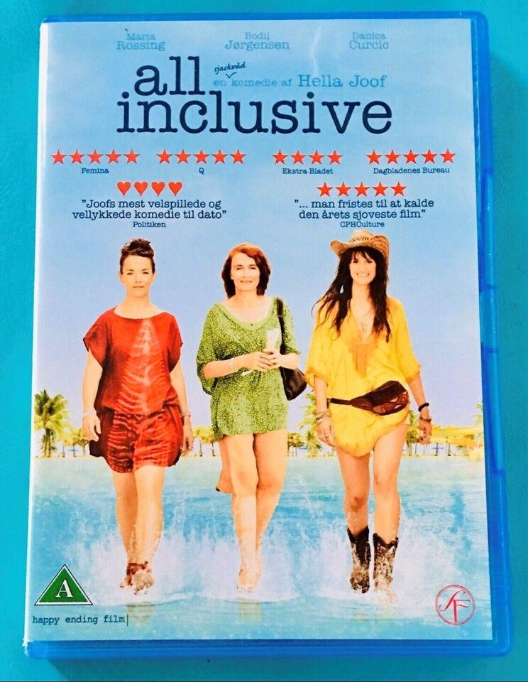 All Inclusive, DVD, komedie