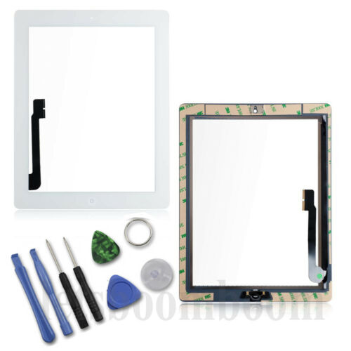 Touch Screen Glass Digitizer Assembly Replacement For iPad 2 3 4 5 Mini Air USA