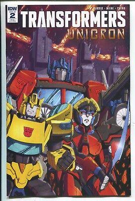 Transformers Unicron #2 1:10 Retailer Incentive Variant RI-A IDW 2018