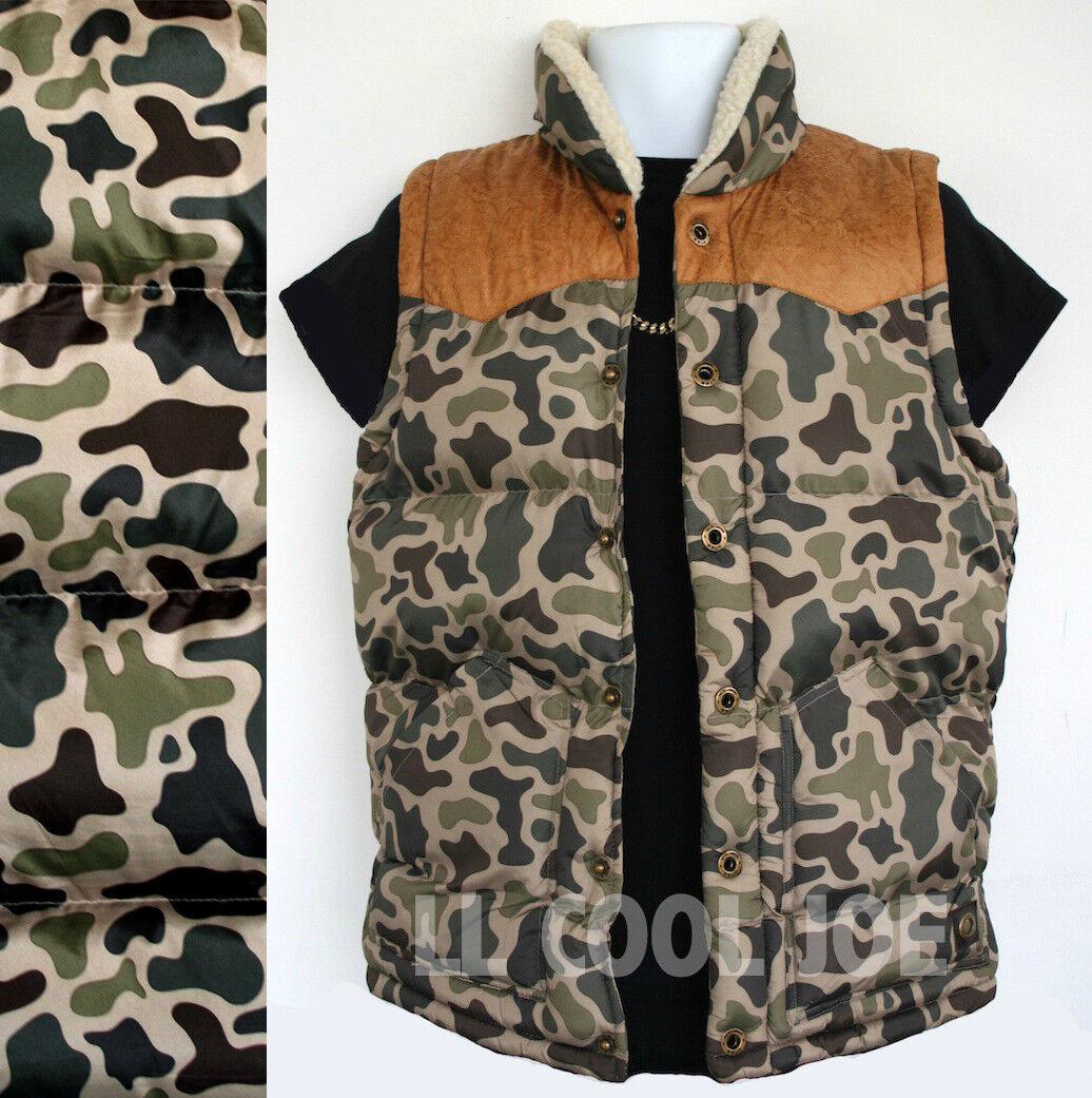 Nouveau Tokyo Laundry Camouflage sans Veste sans Camouflage manches Homme Taille S Veste Veste Sans Manches URBAN CAMO 4da0e9