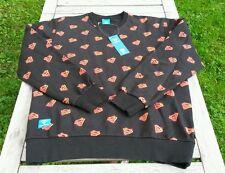 Superman Addict Sweatshirt L DC Comics Herren Pullover Schwarz Urban Outfitters