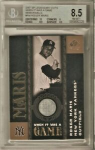 2007-SP-LEGENDARY-CUTS-WHEN-IT-WAS-A-GAME-RM-ROGER-MARIS-8-5-NM-MT
