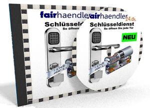 CD-VERSAND - DER SCHLÜSSELDIENST HANDBUCH Schlüssel-Dienst PDF eBook Tür öffnen