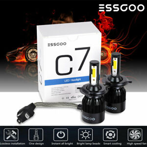 72W-9000LM-6500K-H4-LED-Voiture-Lampe-Kit-Phare-Feux-Ampoule-Replace-HID-Xenon