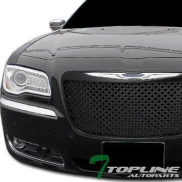 MPH Autoparts Black Sport Mesh Front Hood Bumper Grill Grille ...
