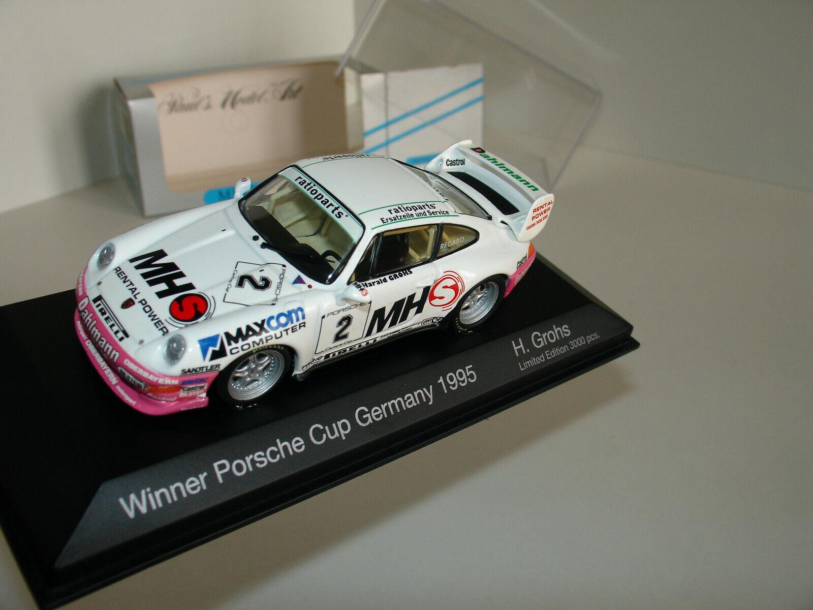 la red entera más baja 1 43 Porsche Porsche Porsche 993 RS  2 Ganador Copa Porsche Alemania 1995 H. GROHS por Minichamps  ventas en linea