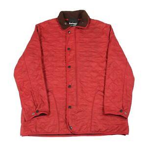 BARBOUR-Polarquilt-foderato-in-pile-giacca-trapuntato-imbottito-isolati-Cappotto-Vintage