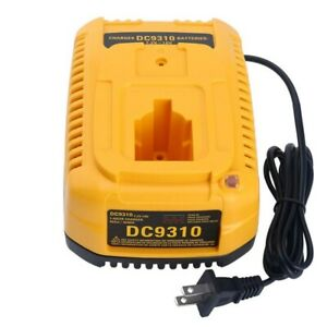 US-Plug-DC9310-Fast-Charger-DW9116-DC9320-For-Dewalt-7-2V-18V-XRP-NI-MH-Battery