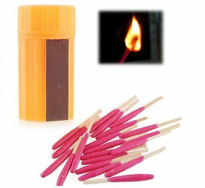 materials such as waterproof matches