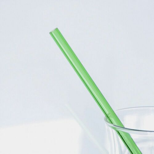 1PC Useful Reusable Straight Pyrex Glass Drinking Straw Wedding Birthday Party