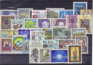 Osterreich-Jahrgang-1997-postfrisch-komplett