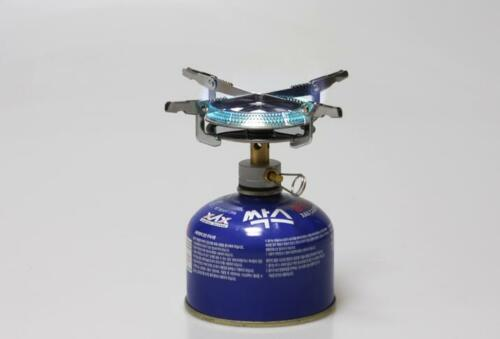Picnic Camping Butane Gas Stove BBQ Burner Cookware Outdoor Portable with Case