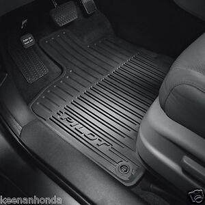 Genuine Oem Honda Pilot All Season Floor Mat Set Mats 2016