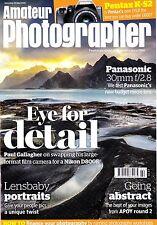 Amateur Photographer magazine  Pentax K-S2 & Panasonic 30mm f2.8 , 30th May 2015