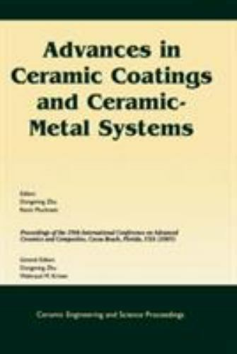 Ceramic Engineering and Science Proceedings: Advances in Cer