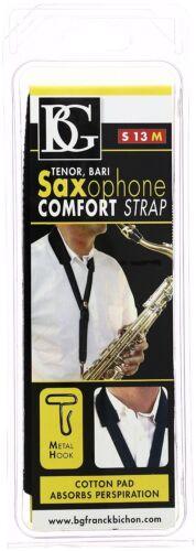BG S13M Tenor//Baritone Saxophone Comfort Strap with Metal Hook