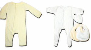 Unisex-YELLOW-Size-000-Mixed-Lot-Bodysuits-Beanie-amp-Bibs-Cotton-On-Just-Hatched