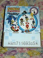 Sonic the Hedgehog Buildable Mini-Figures Display Box 18pcs - NEW!