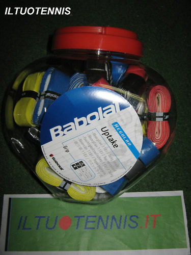 1 Conf. da 30 grip BABOLAT  UP TAKE  col.  misti