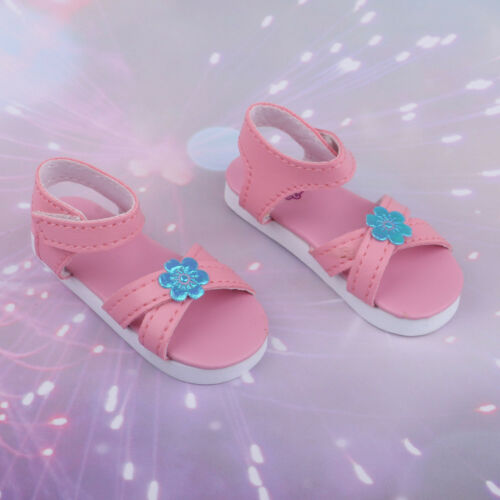 Doll Clothing Party Accs Ankle Strape Shoes Sandals Plats For 1//3 BJD Dolls