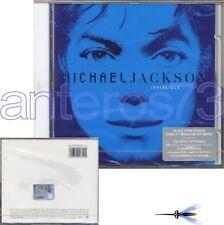 "MICHAEL JACKSON ""INVINCIBLE"" CD RARE BLUE COVER - MINT"