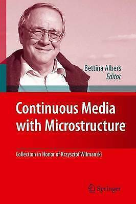 Continuous Media with Microstructure, , Very Good Book