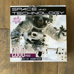 2000 Piece Puzzle Space And Technology By Dalmatian Press NOS