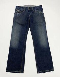 Diesel-bethow-jeans-uomo-usato-gamba-dritta-W32-L30-tg-46-denim-boyfriend-T5031