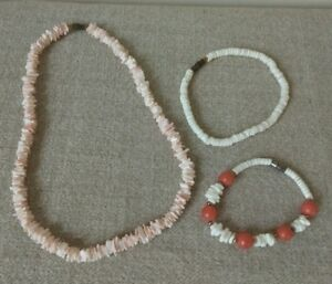 Details about Puka Shell Necklace 8