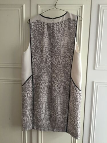 Ans Holidays 14 Party Dress Fab White Whistles Black Pattern Animal BqptwTAxw