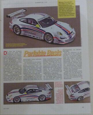 Porsche 911 Gt3 Rsr In 1-43 Di Minichamps... Un Modello Relazione #2007-in Modellbericht #2007 It-it Mostra Il Titolo Originale