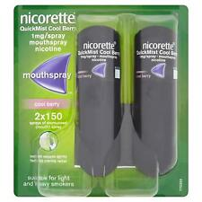 Nicorette Quickmist Berry Duo Smoking Alternative Relieve Nicotine Cravings